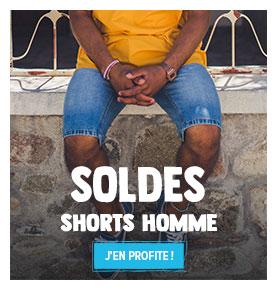 C'est les soldes ! Profitez de promotions jusqu'à -50% sur le rayon Shorts Homme