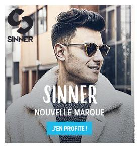 Découvrez notre nouvelle marque d'accessoires Sinner: tongs, lunettes de soleil...