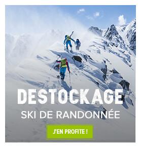 Découvrez les produits ski de randonnée en destockage !