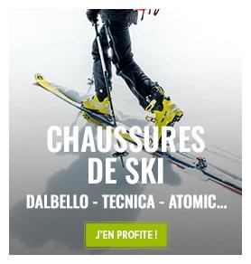 Découvrez notre rayon chaussures de ski !