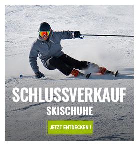 Schlussverkauf Skischuhe