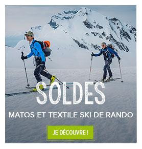 Soldes skis de randonnée