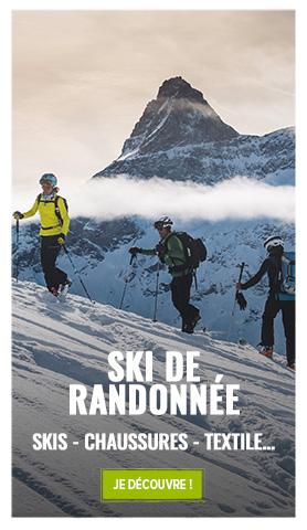 Découvrez notre rayon Ski de randonnée