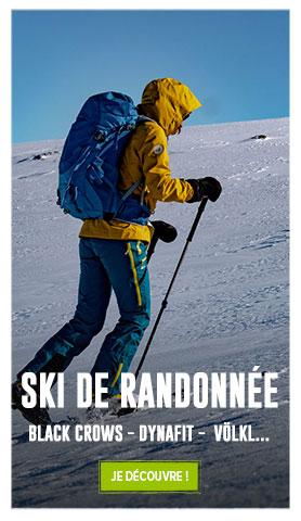 Profitez de -15% sur l'ensemble du rayon Ski de Randonnée