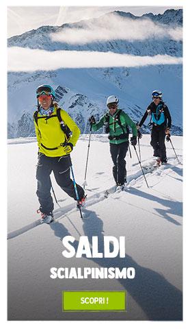 Saldi sopra Scialpinismo : Fino a 70%