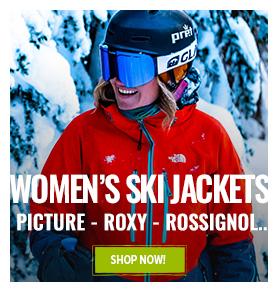 Enjoy latest discount on women's ski jackets