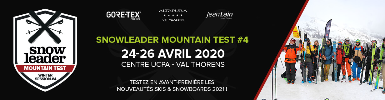 Banniere Snowleader Mountain Test numero 4 24 au 26 avril