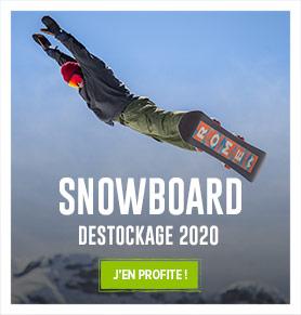Profitez du destockage sur l'ensemble du rayon Snowboard