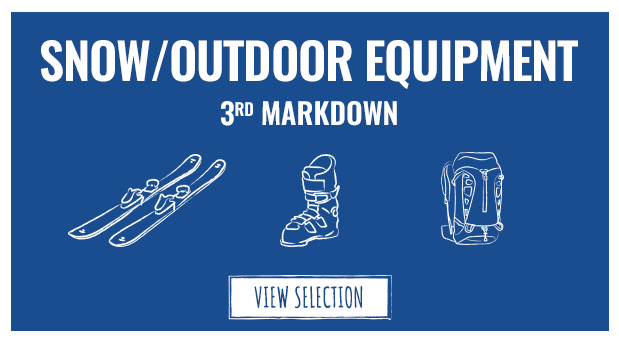 Summer Sale 3rd Markdown: Check out our discounted Outdoor equipment!