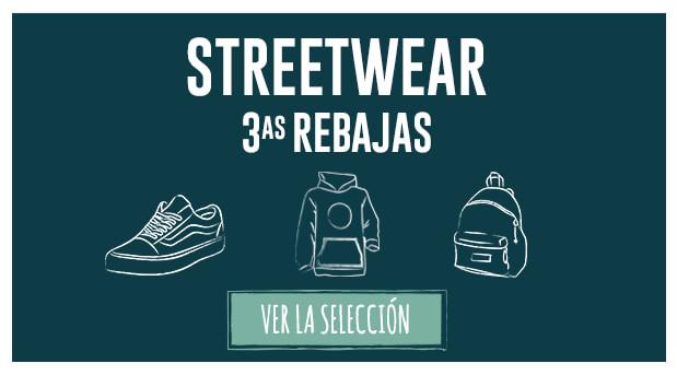 Segundas rebajas: streetwear
