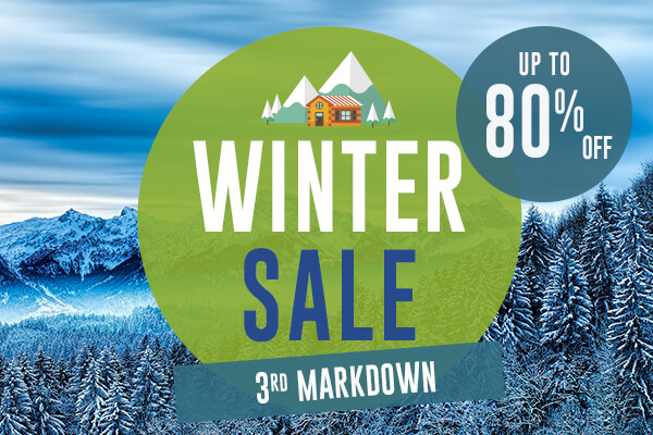It's 3rd Markdown! Come discover all of our products on sale