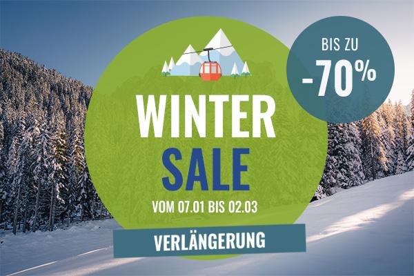 Es ist der 3. Runde Winter sale! Entdecken Sie unsere Verkaufsprodukte