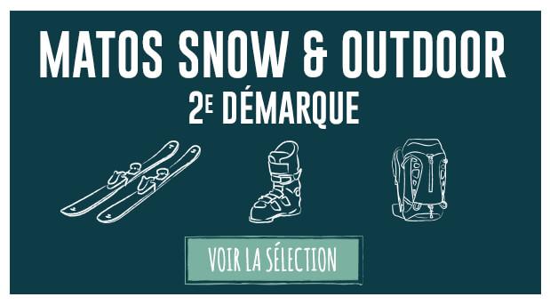 Soldes d'hiver : deuxième démarque matos snow et outdoor !