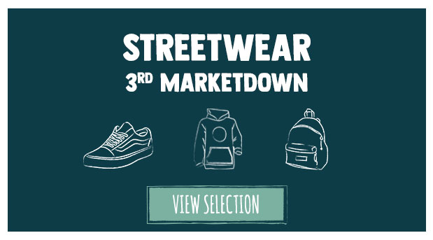 Summer Sale 3rd Markdown: Check out the discounts on our streetwear collection!