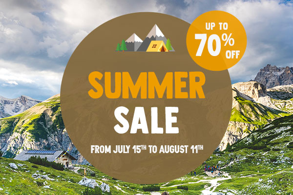 It's Summer Sale! Come discover all of our products on sale