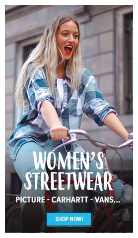 Women's Streetwear : Picture, Carhartt, Vans...