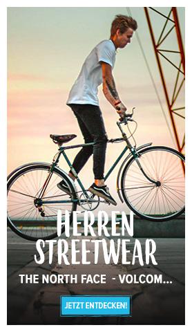 Entdecken Herren Streetwear : The North Face, Volcom...