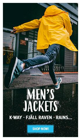 Men's jacket : K-way - Fjall Raven - Rains…