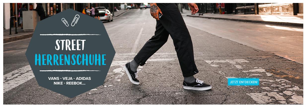 Street Herrenschuhe: Vans, Veja, Adidas, Nike, Reebok...