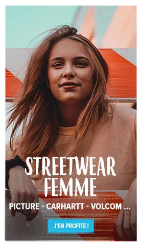 Découvrez tous les produits de notre rayon Streetwear Femme !