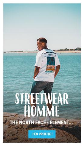Découvrez tous les produits de notre rayon Streetwear Homme !