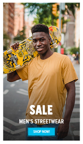 It's Summer sale! Come discover our Men's Streetwear assortment on sale