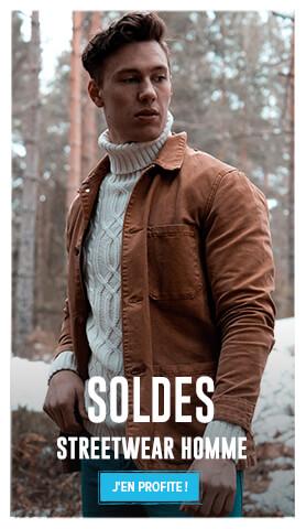 C'est les soldes ! Découvrez notre collection Streetwear homme en soldes !