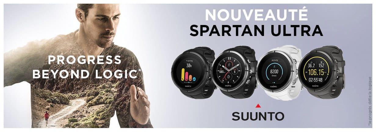 Nouvelle Suunto Spartan en pré-commande !