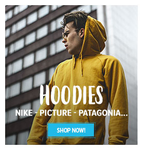 Come discover our Hoodies assortments : Nike, Picture, Patagonia..!