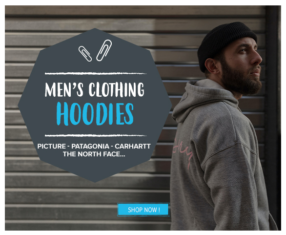 Come discover our collection of Hoodies : PAtagonia, Picture, Carhartt !