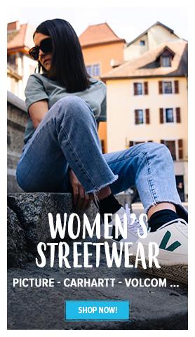 Discover Women's Streetwear : Picture, Carhartt, Volcom...