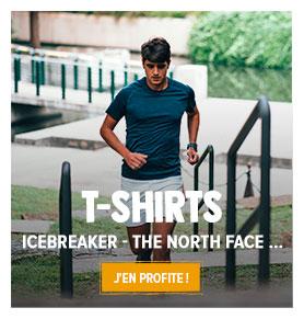 Découvrez notre rayon T-shirts respirants Homme : Icebreaker, Millet...
