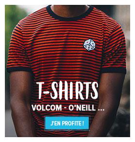 Découvrez notre rayon T-shirts Street Homme : Rip Curl, Makia...
