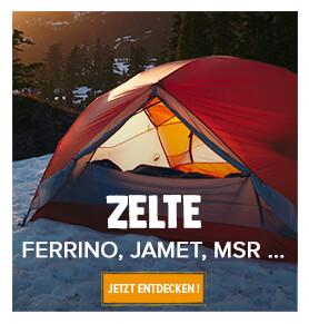 Eine große Auswahl an Zelten für Camping, Wandern und Berg!