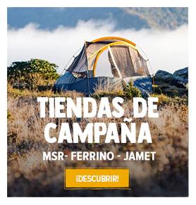 Descubre nuestros gama de Tiendas de Campaña: MSR, Ferrino, Jamet…