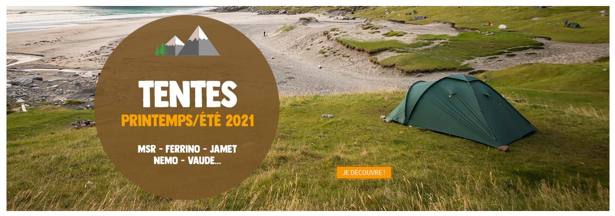 Découvrez les nouveautés Tentes 2021 : MSR, Ferrino, Jamet, Nemo, Vaude...