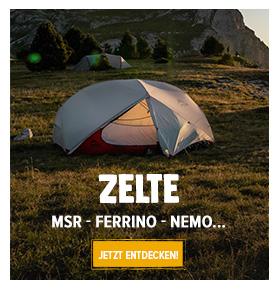 Entdecken Zelte: MSR, Nemo, Camp…