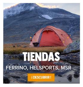 Tiendas senderismo, camping, ligeras, expediciones ...