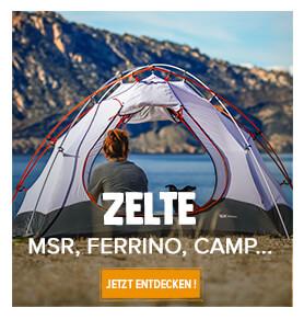 Zelte msr, camp, ferrino ...