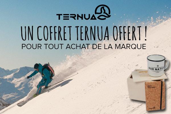 Un coffret Ternua offert pour tout achat de la marque