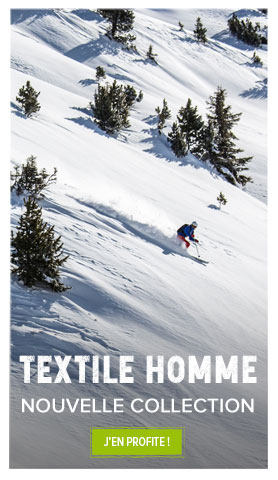 Nouvelle collection textile technique homme !