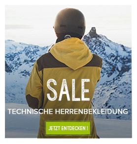 Technische Herrenbekleidung sale!