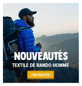 Découvrez toutes les nouveautés de notre rayon Textile de randonnée Homme !
