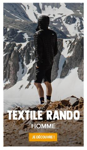 Découvrez tout l'univers du textile randonnée pour homme !