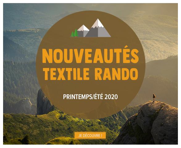 Découvrez les nouveautés notre rayon Textile Randonnée Homme