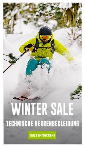 Winter sale : Technische Herrenbeikleidung