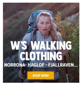 Come discover women's hiking clothing : Norrona, Haglof, Fjallraven…