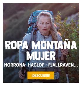 Descubrir Ropa Montaña Mujer : Norrona, Haglof, Fjallraven…
