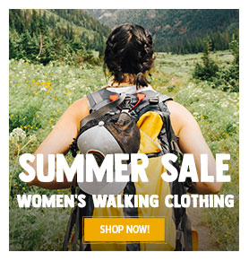 It's Summer sale! Come discover our Women's outdoor clothing assortment on sale