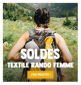 C'est les soldes ! Profitez de promotions jusqu'à -50% sur le Textile de rando Femme